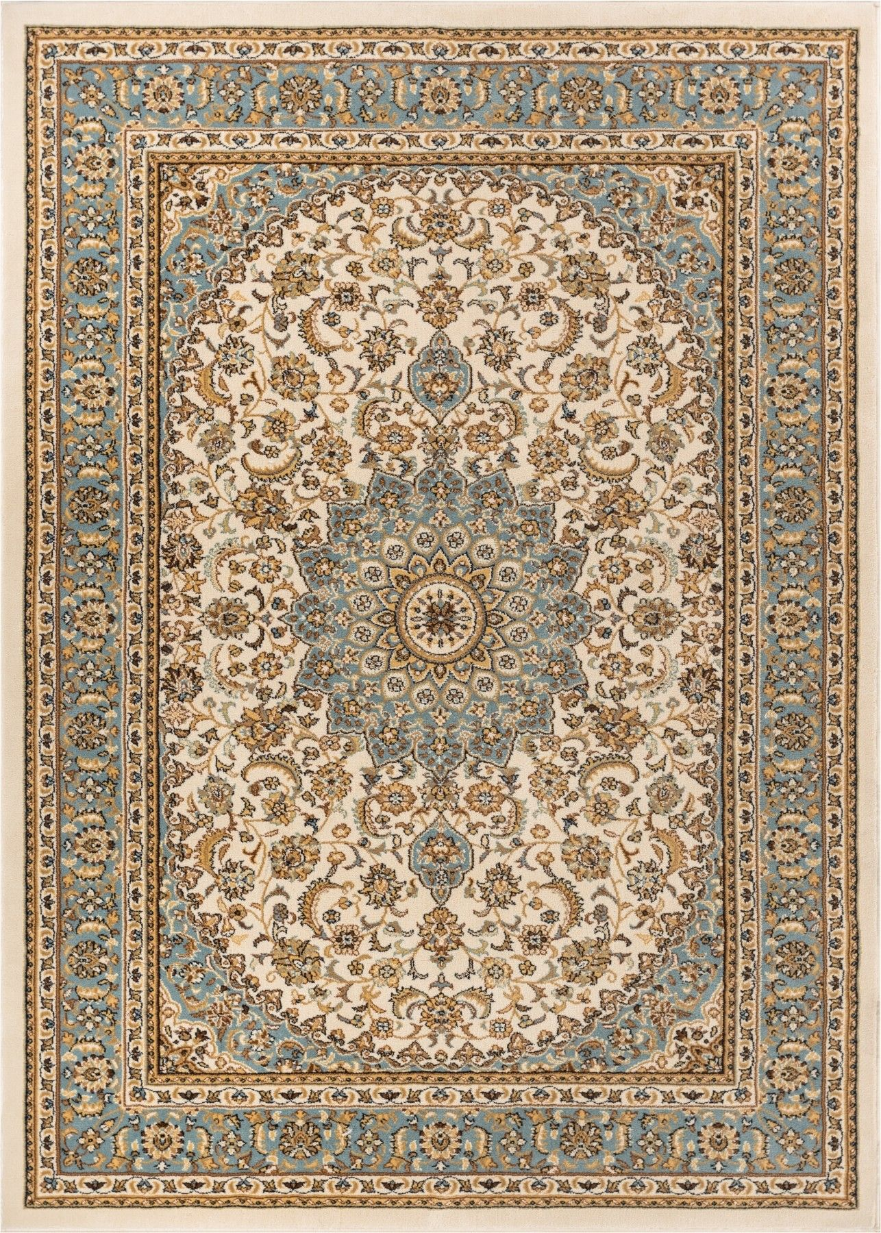 Colindale Ivory Area Rug French Country Rug Traditional Rugs Area Rugs