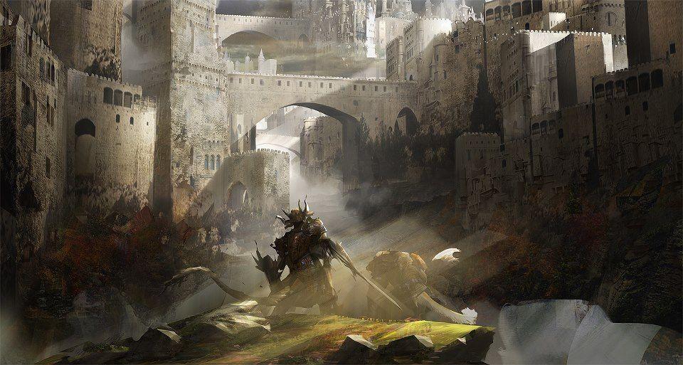Guild Wars concept by Levi Hopkins / United States http://levihopkinsart.blogspot.com/