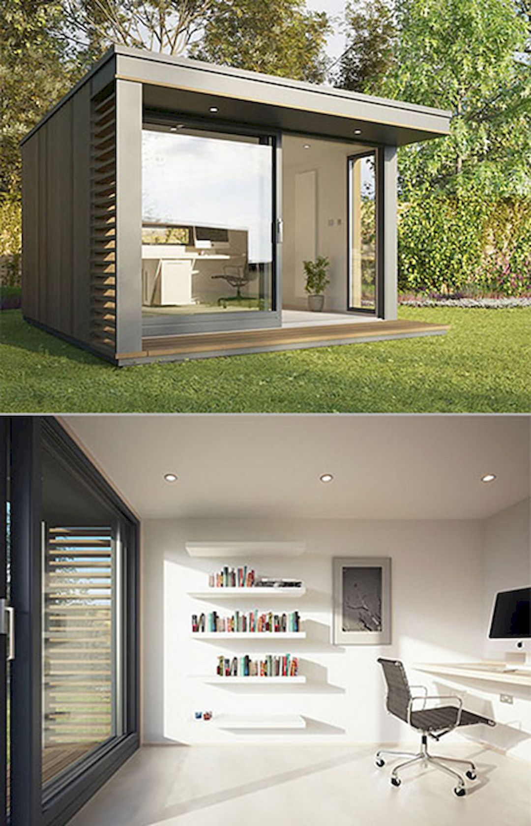 build home office. 43 Outstanding Unique House Design Inspirations. Backyard OfficeGarden Home Build Office
