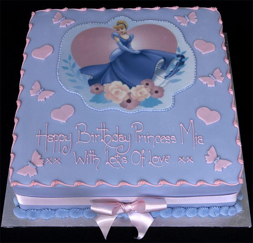 Stupendous Cinderella Cake With Images Cinderella Birthday Cake Disney Birthday Cards Printable Riciscafe Filternl