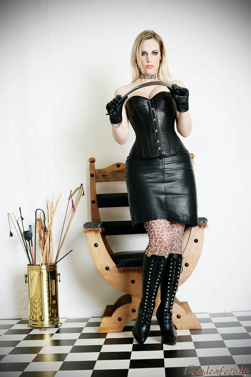 leather skirt corset leather