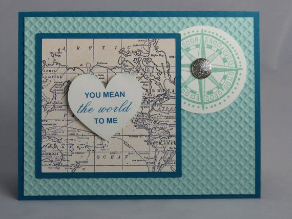 Stampin Up Handmade Greeting Card Anniversary Card Husband Wife