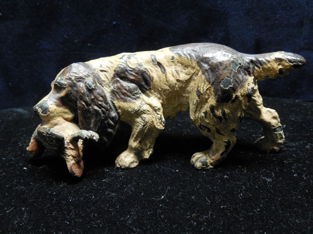 Austrian Cold Painted  Bronze Hunting Dog #AUSTRIA