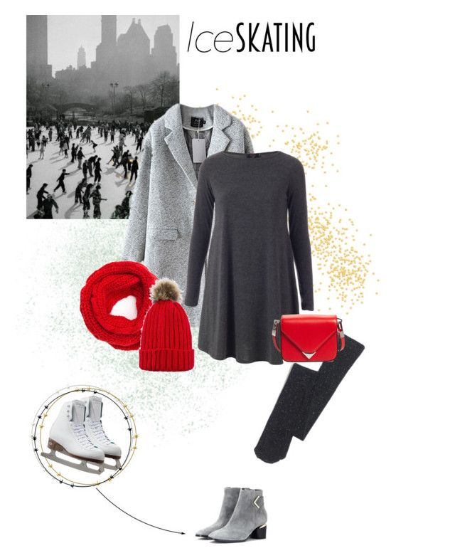 """""""ice skating style"""" by m-jelic ❤ liked on Polyvore featuring Madewell, Nicholas Kirkwood and Alexander Wang"""