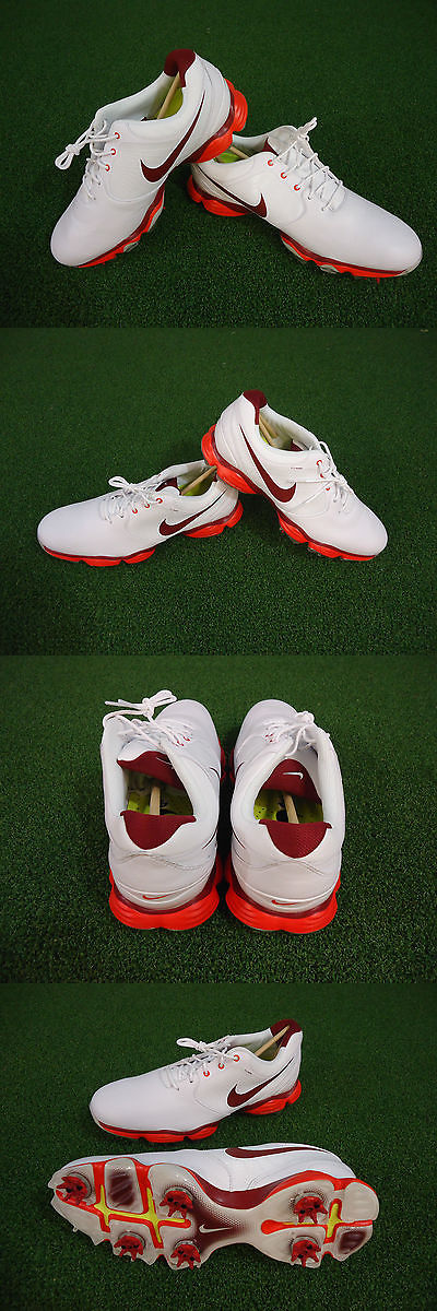 Other Golf Clothing 158939: New 2014 Nike Lunar Control Ii Golf Shoes  (White-