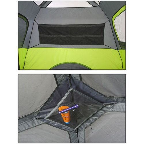 Ozark Trail 6-Person Instant Cabin Tent  sc 1 st  Pinterest & Ozark Trail 6-Person Instant Cabin Tent | For the Love of Camping ...