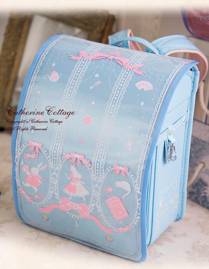Coulomb Randoseru School Backpack Princess Series 2018 Model Light Blue NEW