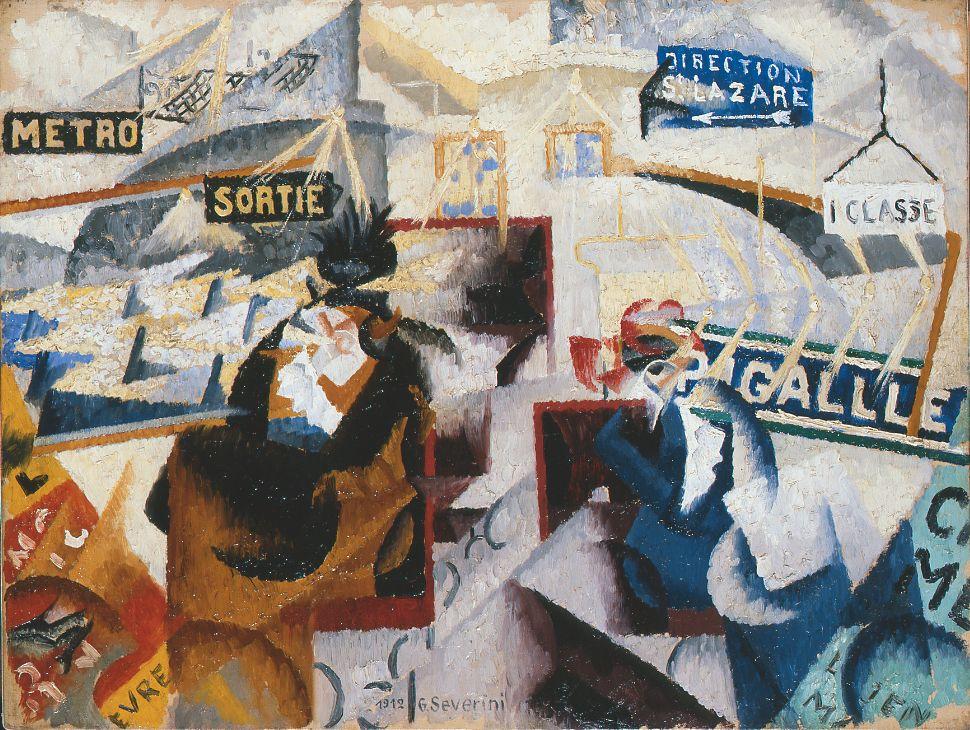 LE NORD-SUD Gino Severini, 1912