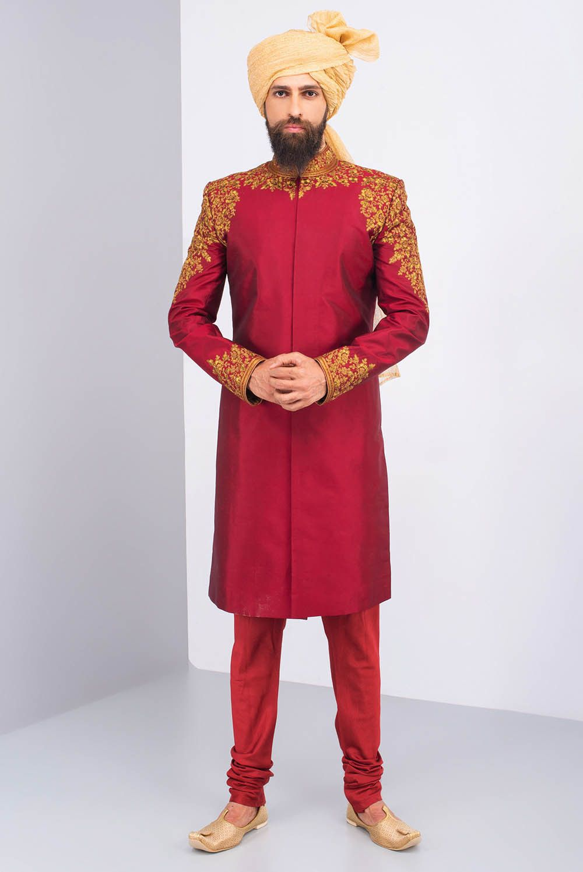 On demand wardrobe sherwani and indian groom wear