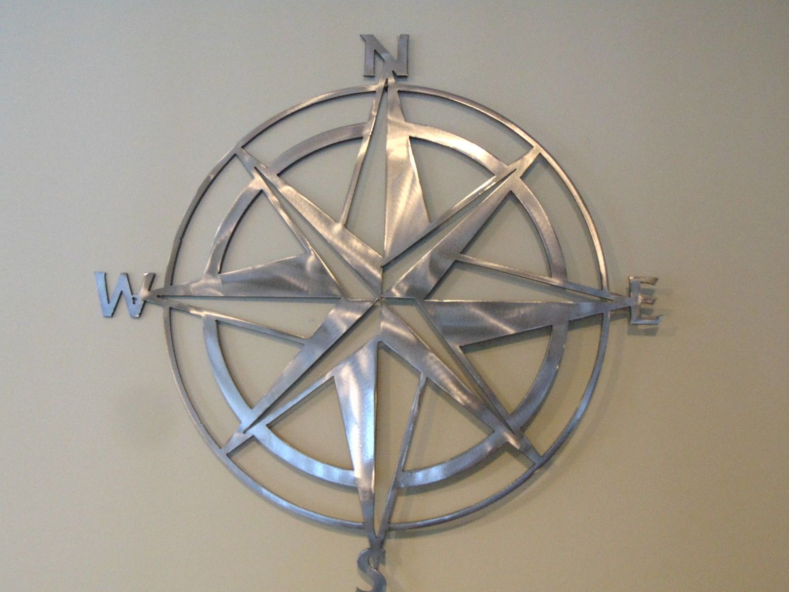New Nautical Compass Rose Wall Art Home Decor 22 X 22 By