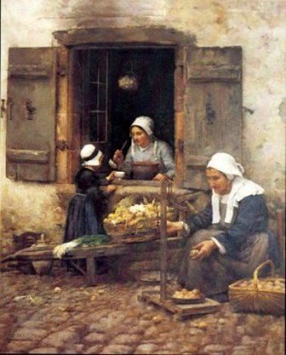 Fair Measures: A Shop In Quimperle - Stanhope Alexander Forbes