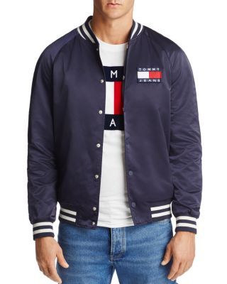 96ce9c43 TOMMY HILFIGER . #tommyhilfiger #cloth # Mens Navy Jacket, Navy Blue Bomber  Jacket