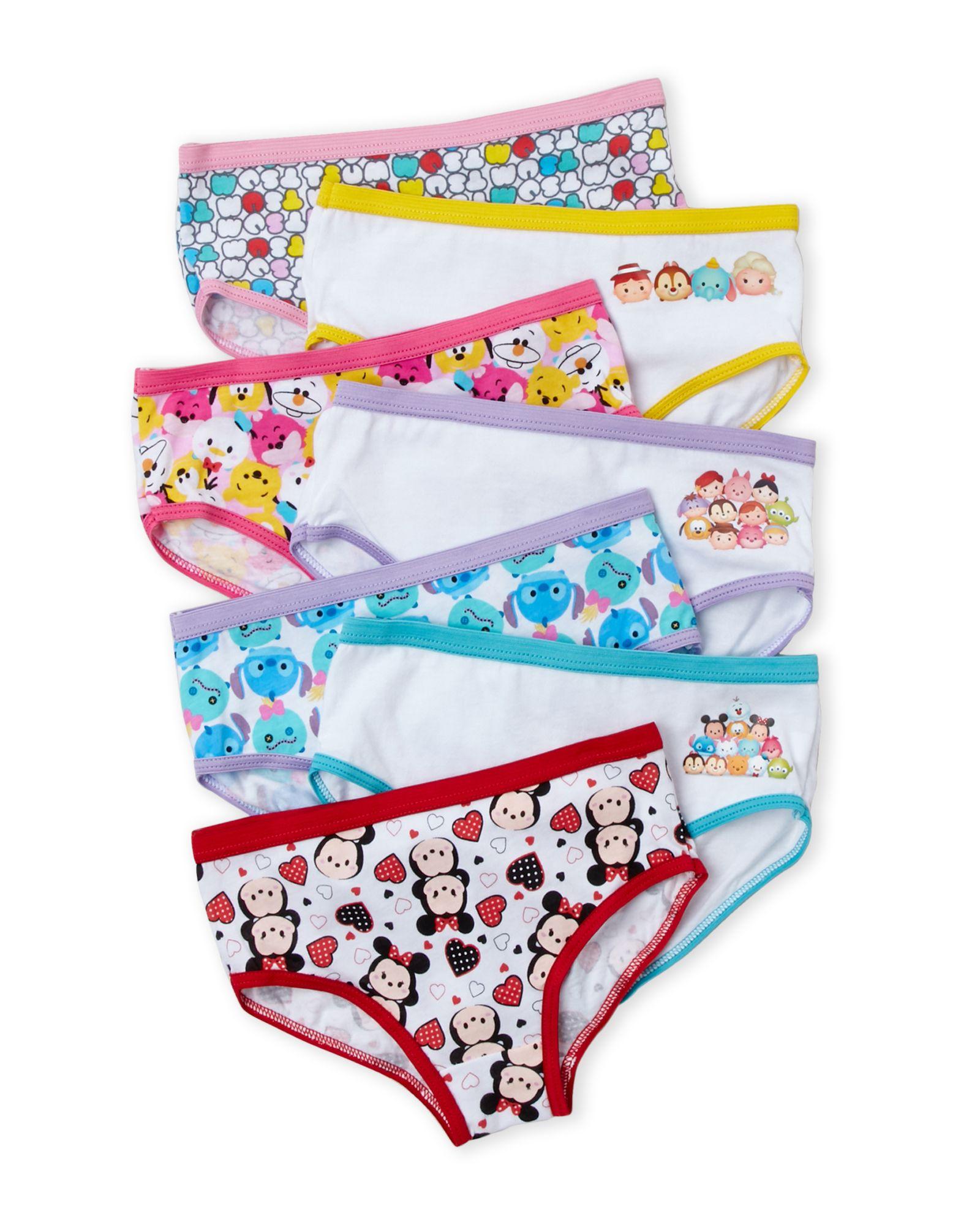 246b2ebe732 Tsum Tsum (Girls 4-16) 7-Pack Hipster Underwear