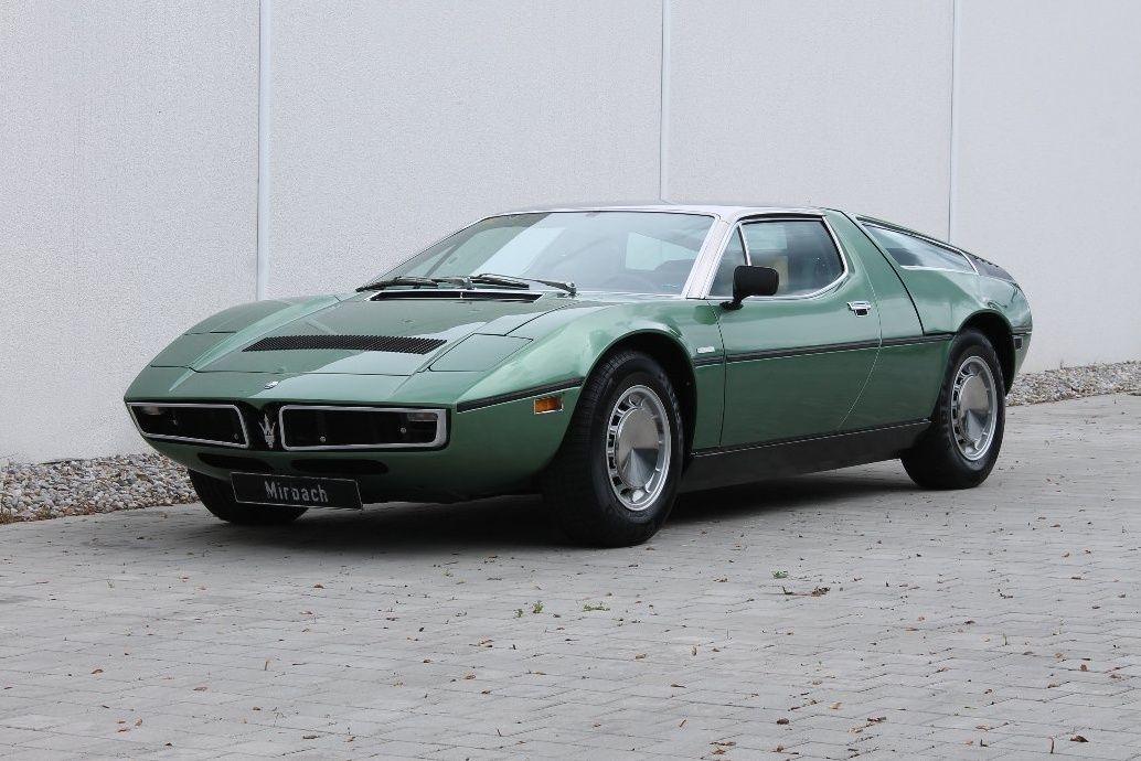 1973 Maserati Bora - 4.9 | Classic Driver Market ...