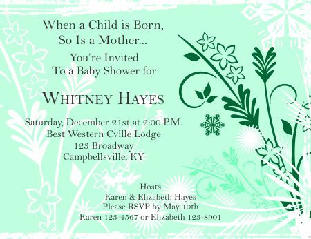 Get FREE Template Free Baby Shower Invitations Templates Word Baby