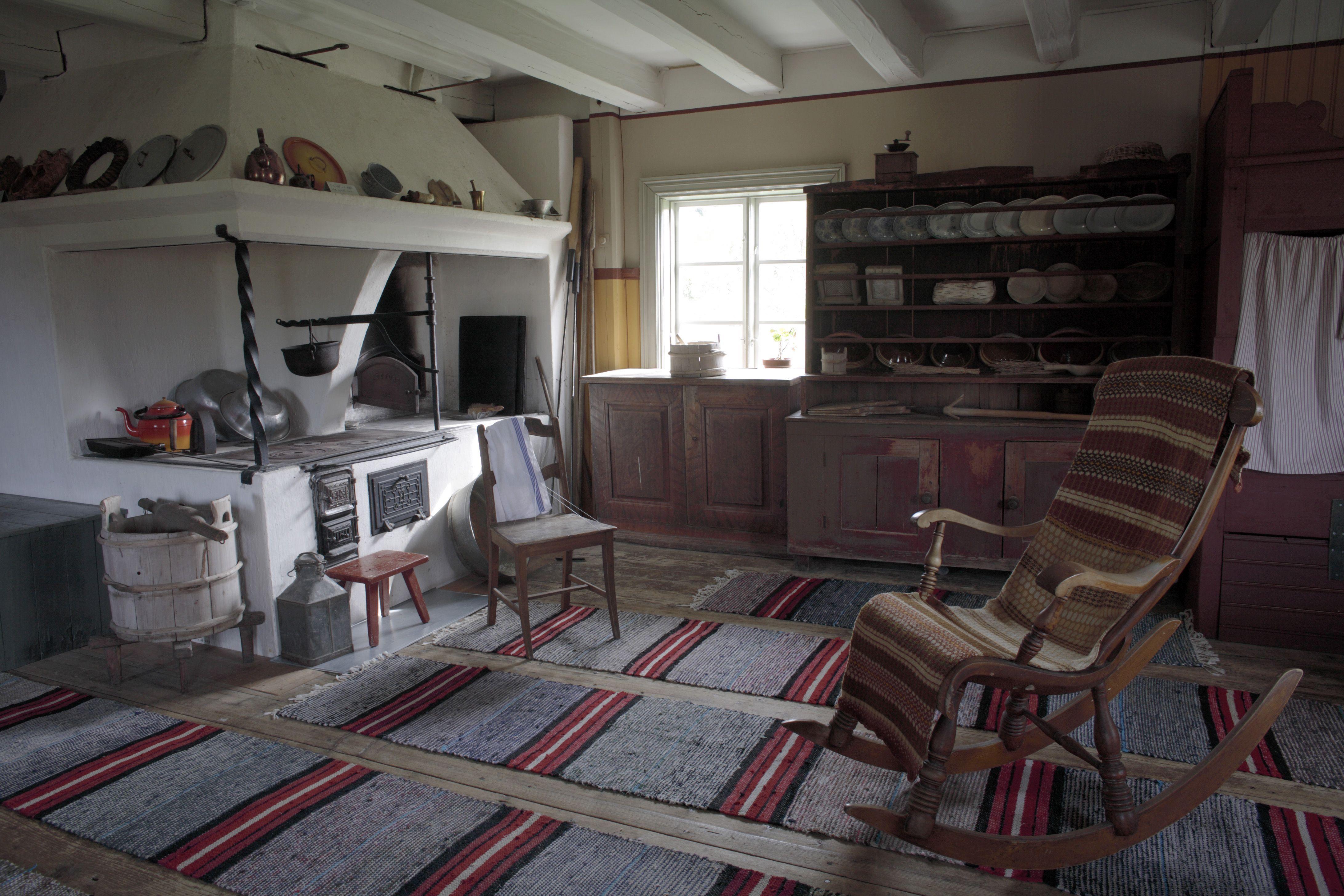 Tupa Farmhouse Looking Like It Did Hundred Years Ago