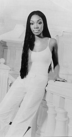 Brandy Norwood Micro Braids | Celebrity Hair Braids in ...