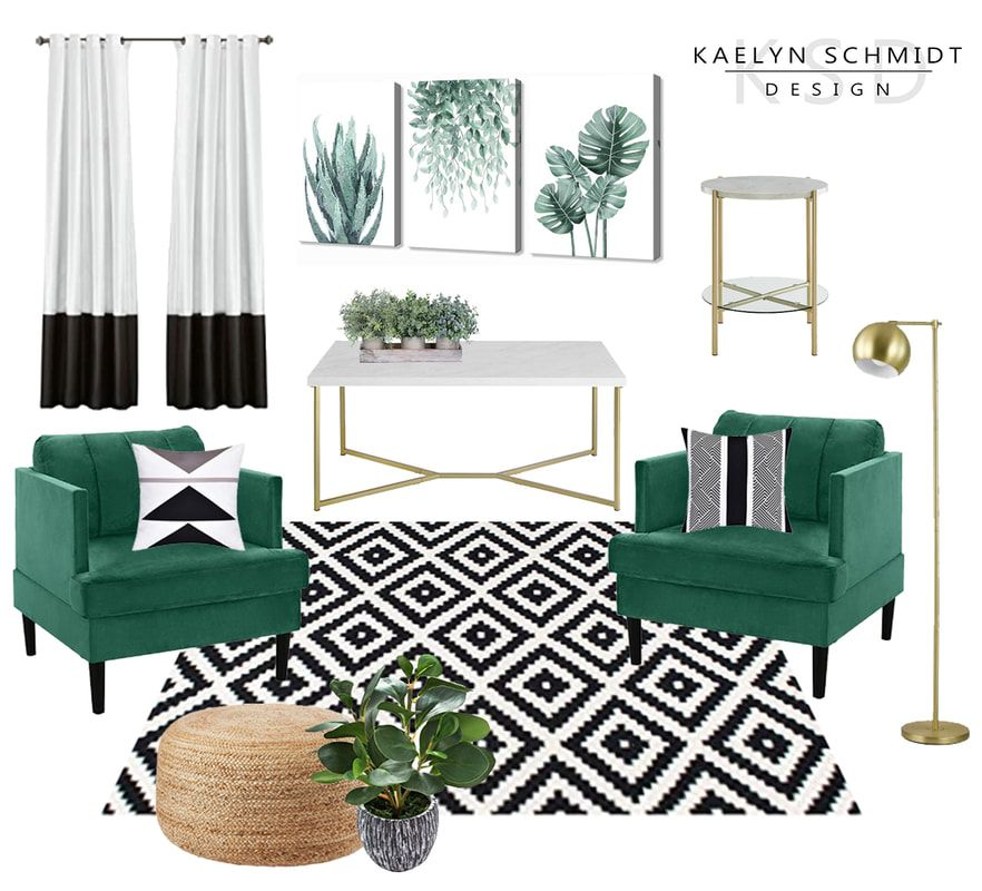 Green Chairs Design Board Green Living Room Decor Living Room Green Black And White Living Room