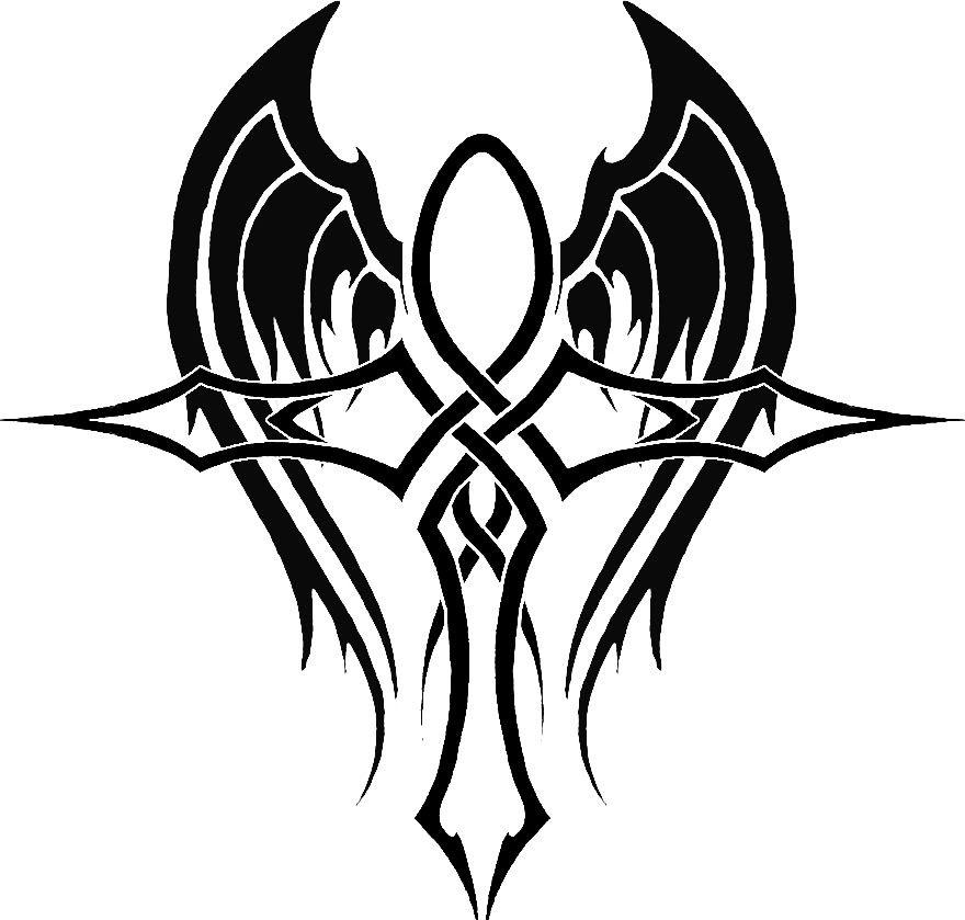 Ankh Tribal Tattoo Piercing Ideas Pinterest Tattoos Tattoo