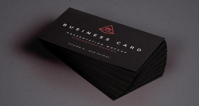 Business Card Mockup PSD | Photoshop - Mockups | Pinterest | Mockup