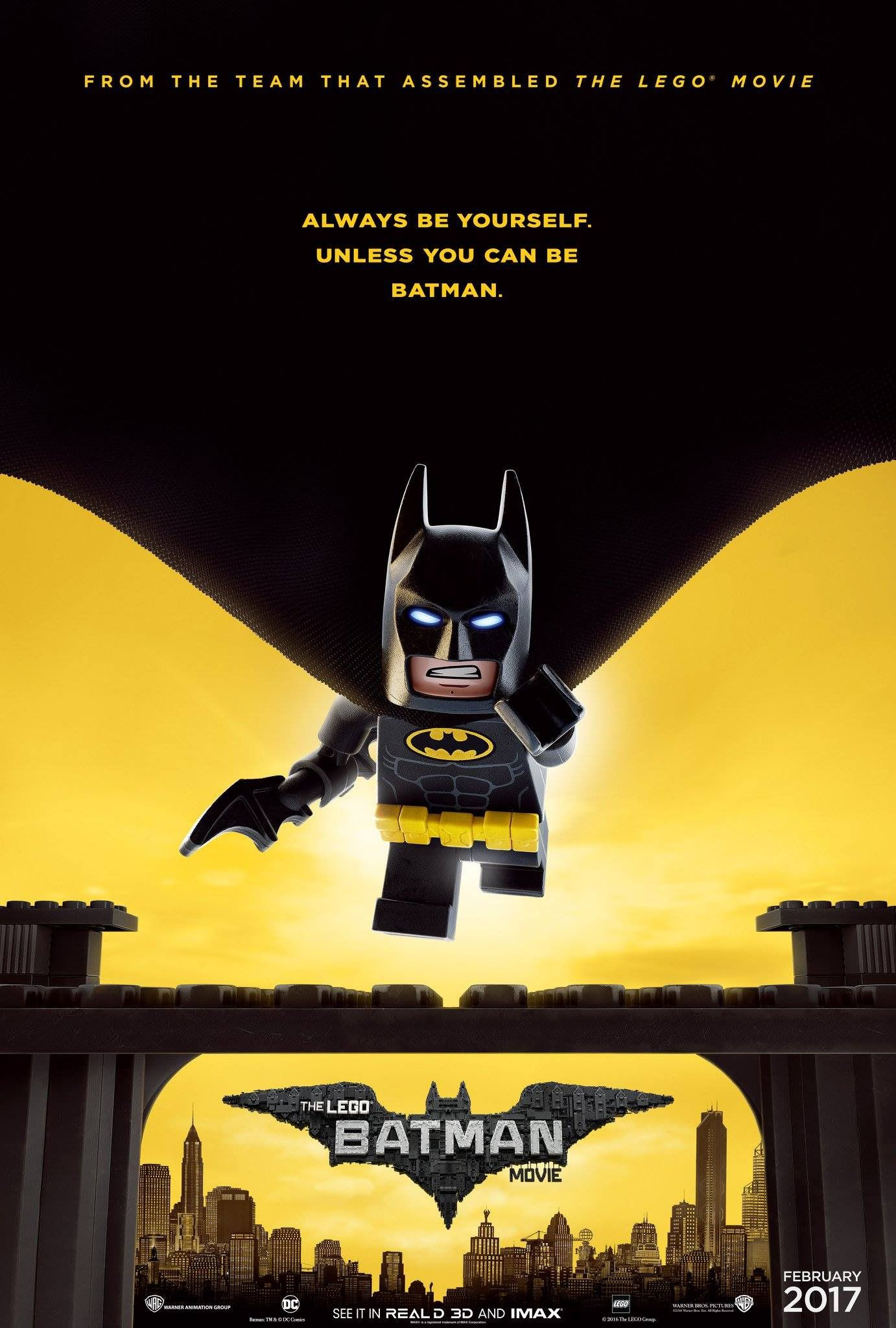 The Lego Batman Movie Always Be Yourself Unless You Can Be