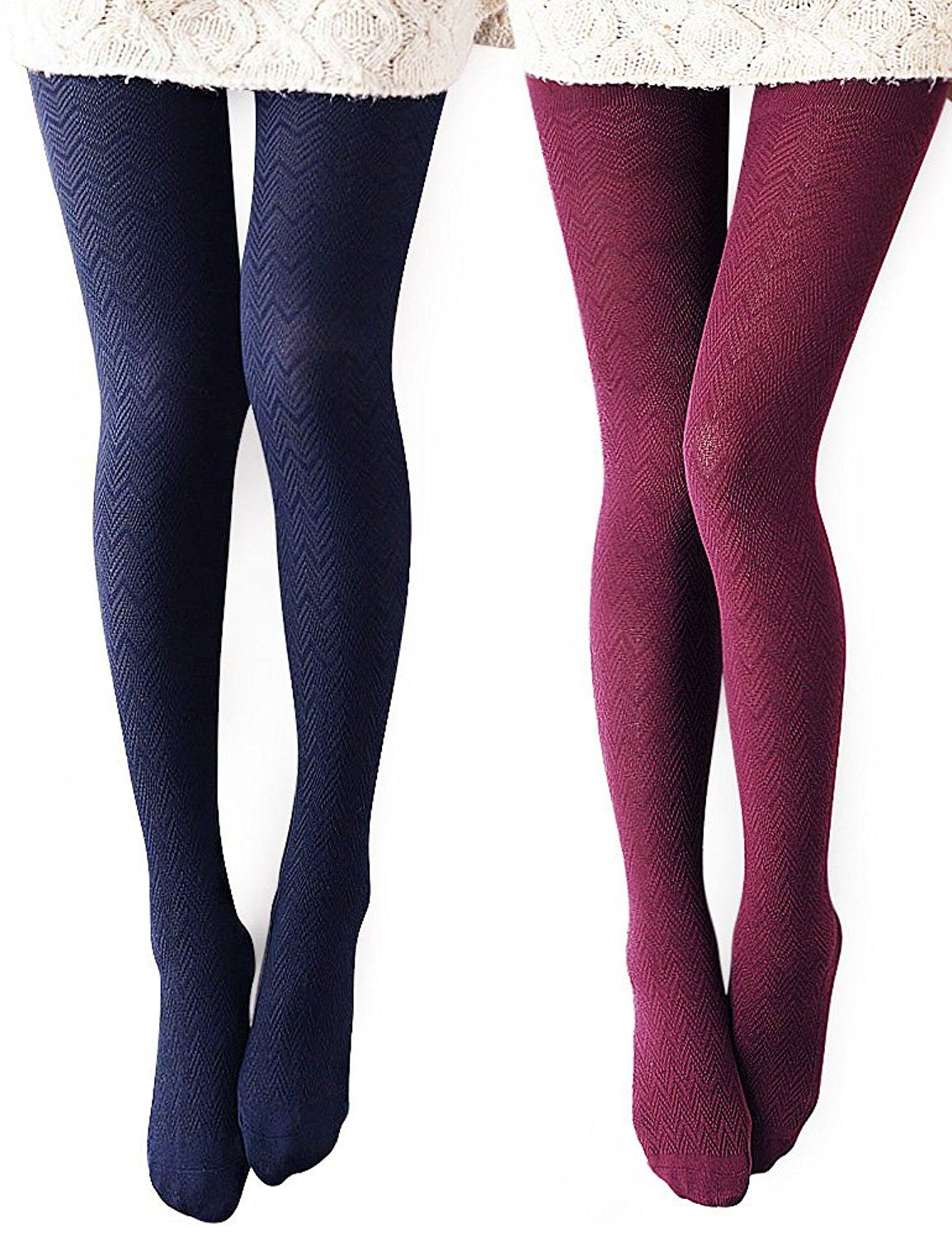 Vero Monte Women's Modal and Cotton Opaque Knitted Patterned Tights *** Find out more about the great product at the image link.