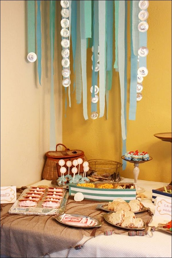 Under The Sea Party Decorations Ideas | Under the sea theme | Pinterest