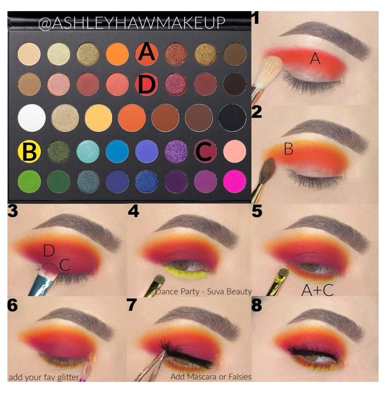 James Charles Tutorial james charles makeup palette