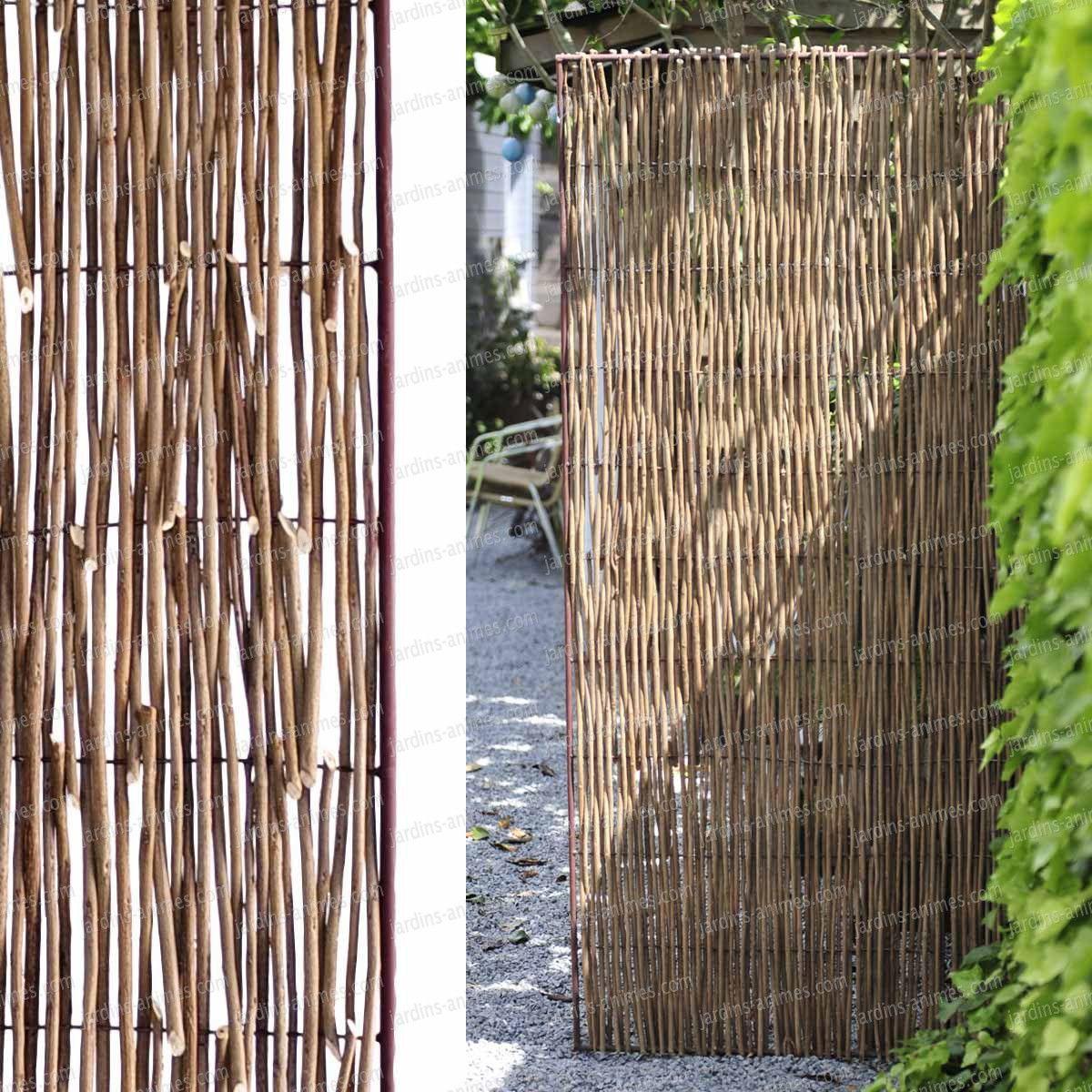 panneau acier acacia 90x180 lilith panneau brise vue. Black Bedroom Furniture Sets. Home Design Ideas