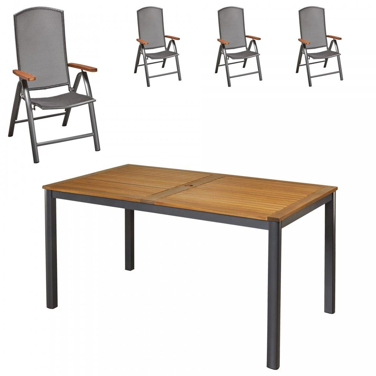 Robustes Gartenmobel Set In Modernem Design Pflegeleicht