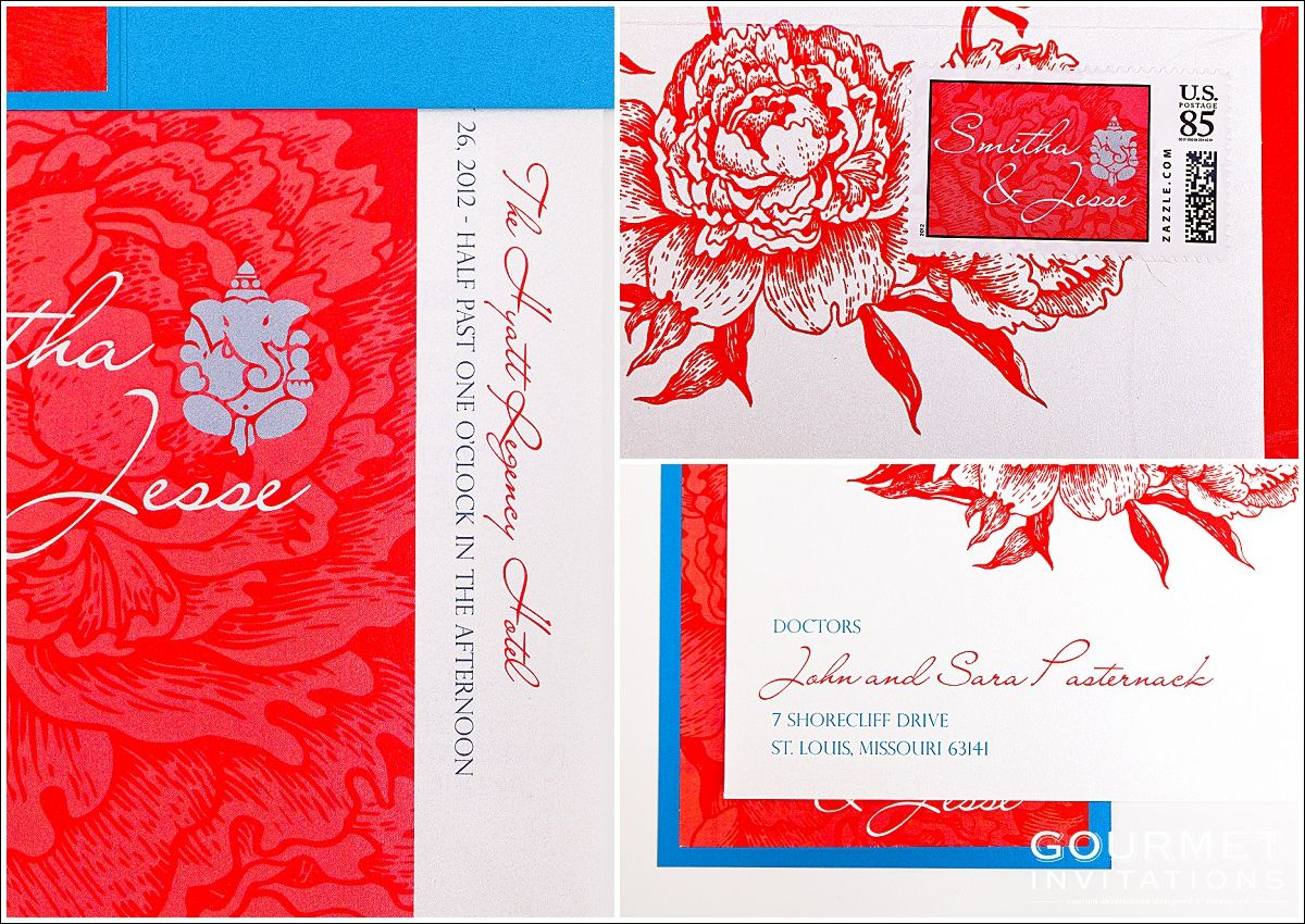 Indian Fusion Wedding Invitations | FUSION WEDDING INVITATIONS ...