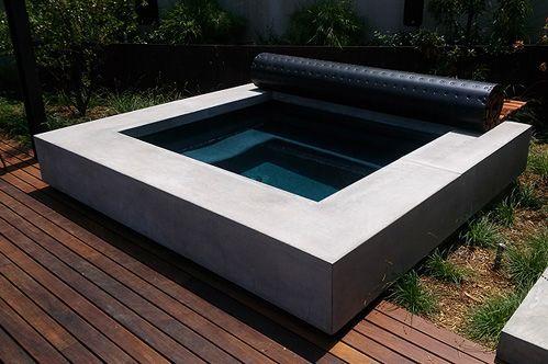 Concrete Hot Tub Google Search Concrete Pinterest Hot Tubs