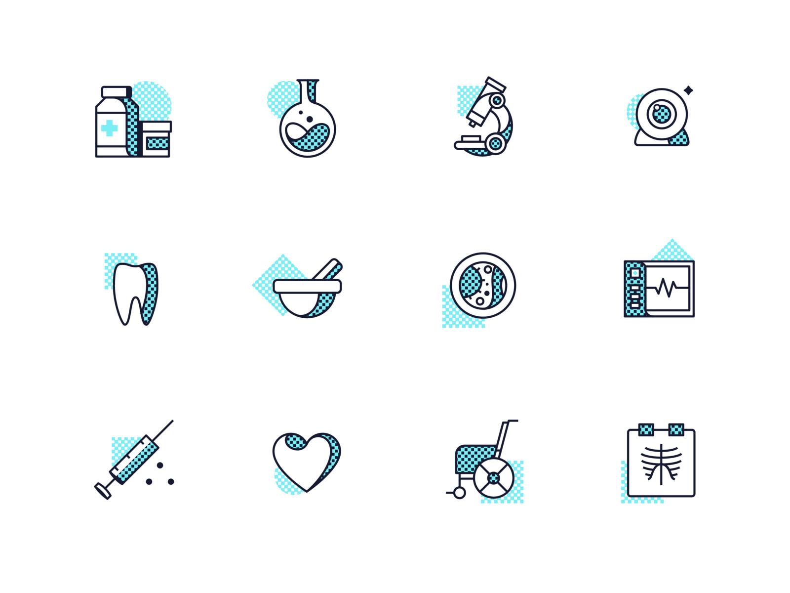 Telemedicine Icons Design Hospital Pharmacy Aid Icon Features Service Dashboard Startup Medicine Graphic Illustration Telem Icon Design Best Icons Telemedicine