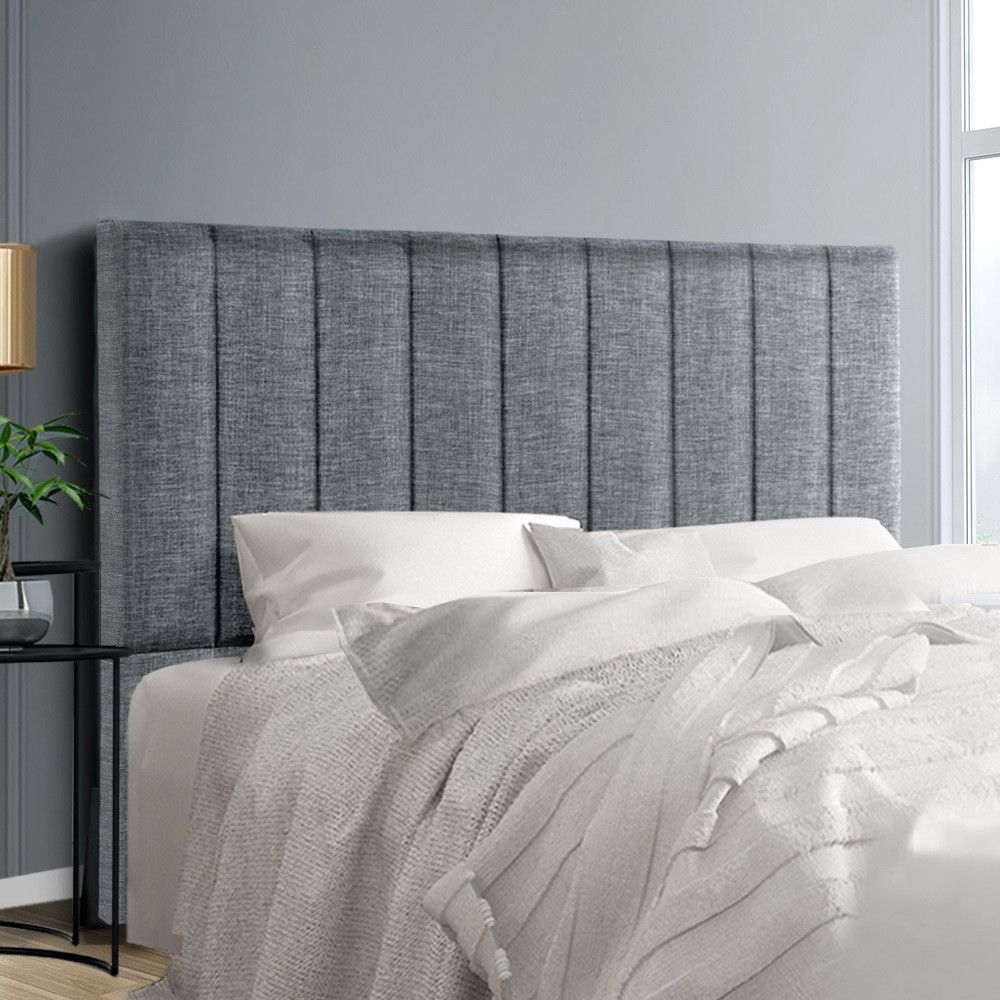 Artiss Queen Size Bed Head Sala Headboard For Base Frame Linen