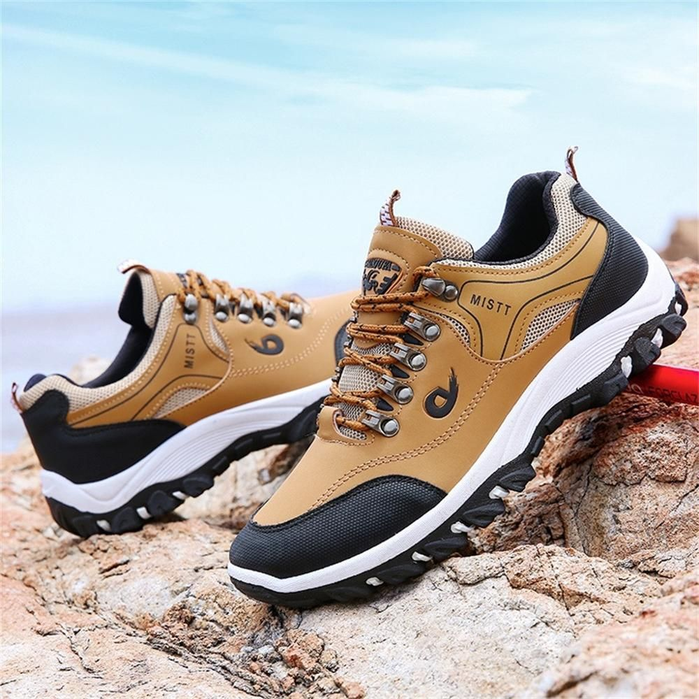 Sotetily Mens Outdoor Mesh Hiking Shoes trekking Fast Dry Plus Breathable Non-Slip Climbing Sneakers hombre Dropship#0619