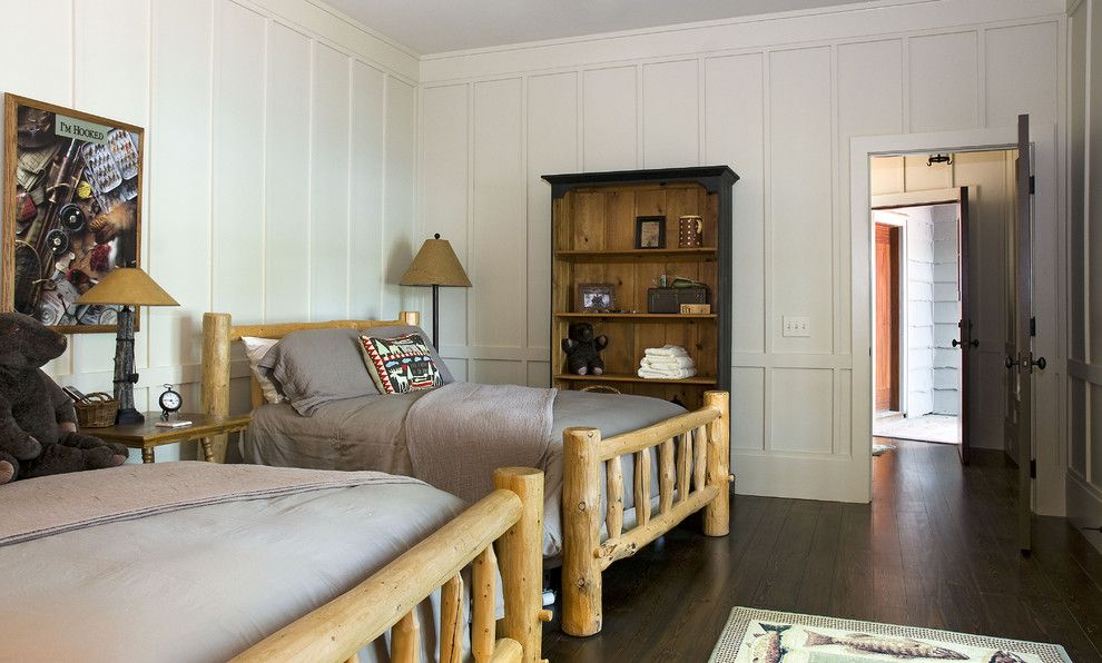 Rustic Cottage Wood Treatments | Wood Paneling Decorating Ideas For  Stunning Bedroom Rustic .