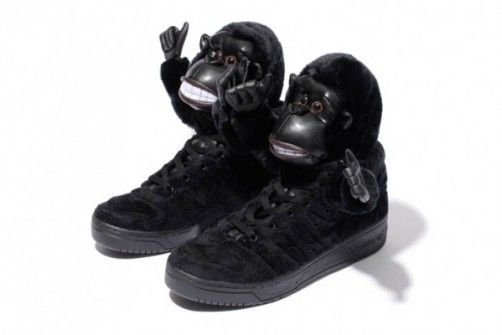 the best attitude 92f82 b8e20 Jeremy Scott - Adidas Gorila