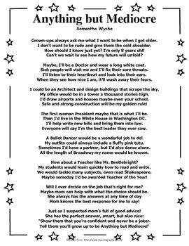Narrative Poetry Reading Comprehension Activity Reading Poems