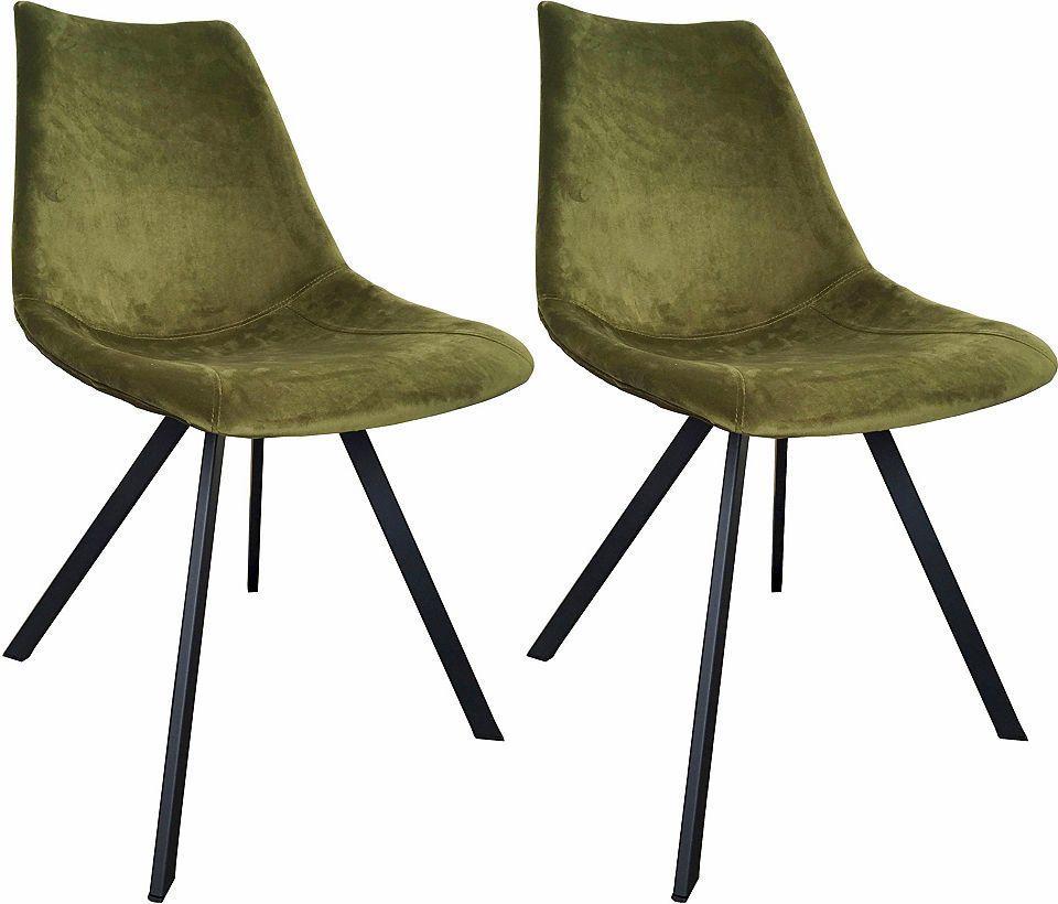 SIT Stuhl »2489« in Samt-Optik (2er Set) Jetzt bestellen unter ...