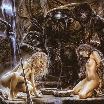 Erotic science fiction art