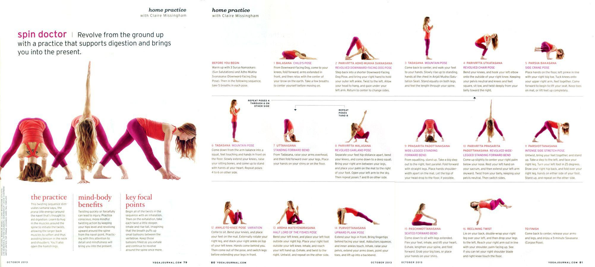Yoga Journal Yoga Journal Teaching Yoga Yoga Flow Sequence