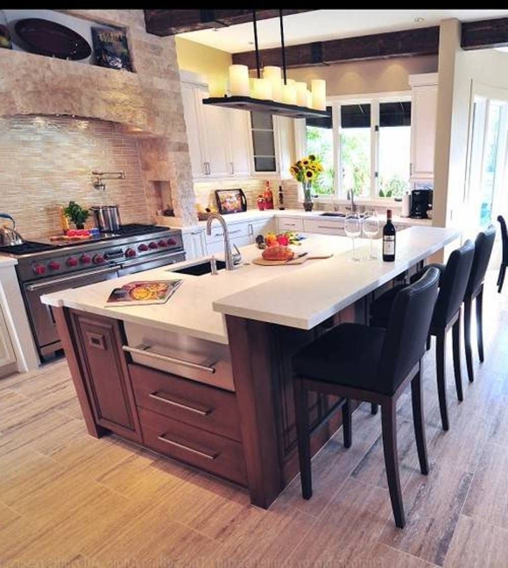 Best kitchen design mediterranean with candle lighting and