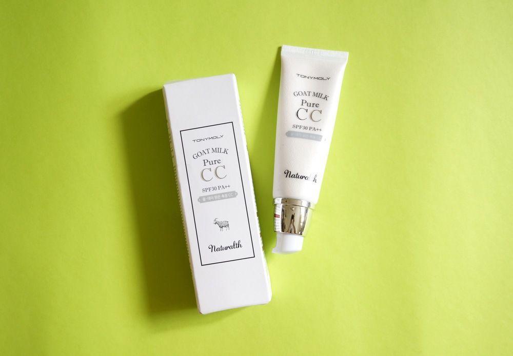 This works: The Tony Moly Naturalth Goat Milk Pure CC — Project Vanity
