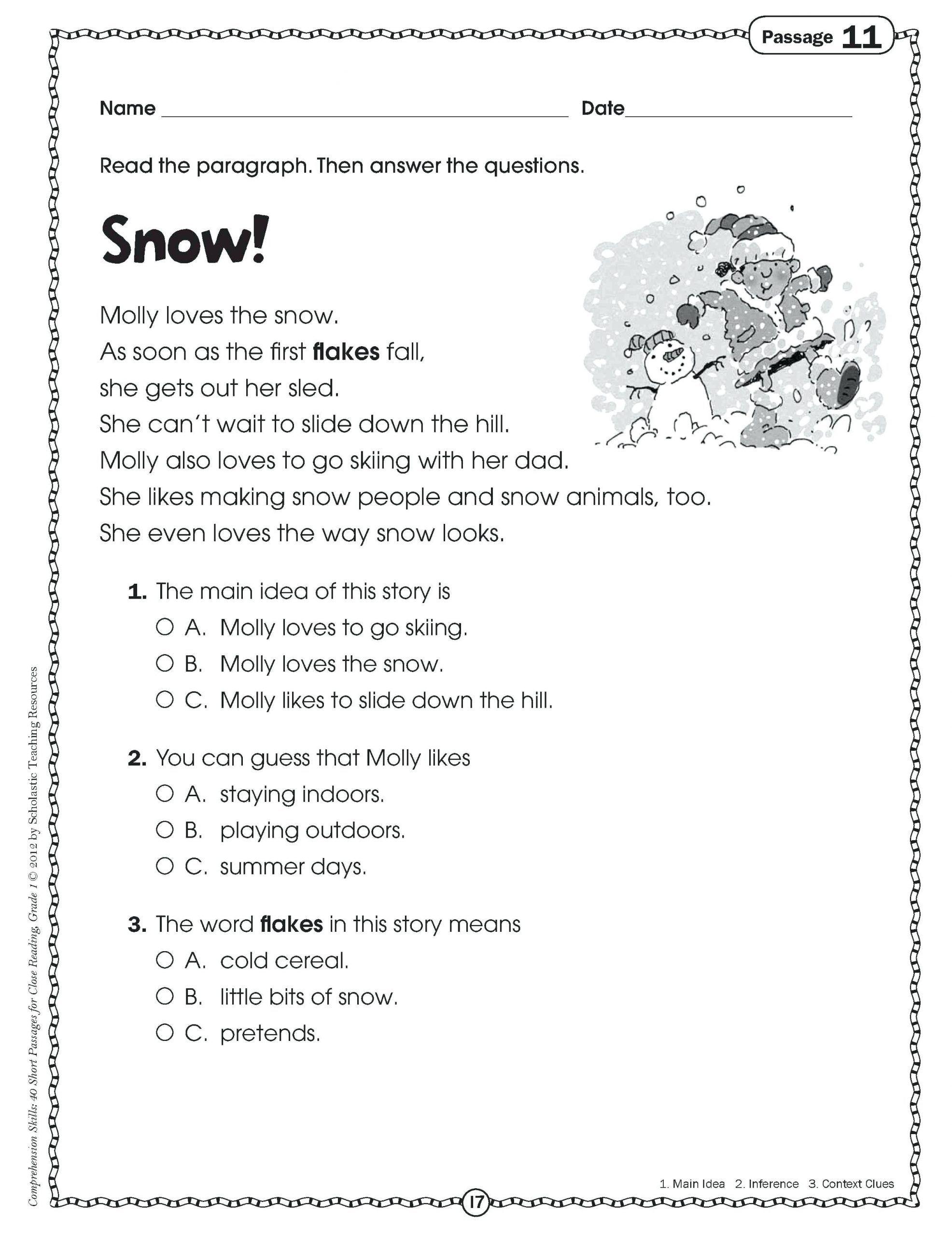 Relative Pronouns Worksheet Grade 4 In 2020 Main Idea Worksheet Reading Worksheets Comprehension Worksheets