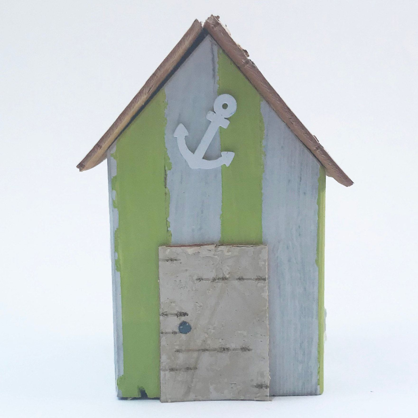 Beach Hut Outdoor Garden Decor Bathroom Ornaments Etsy Beach Bathroom Decor Decor Bathroom Ornaments