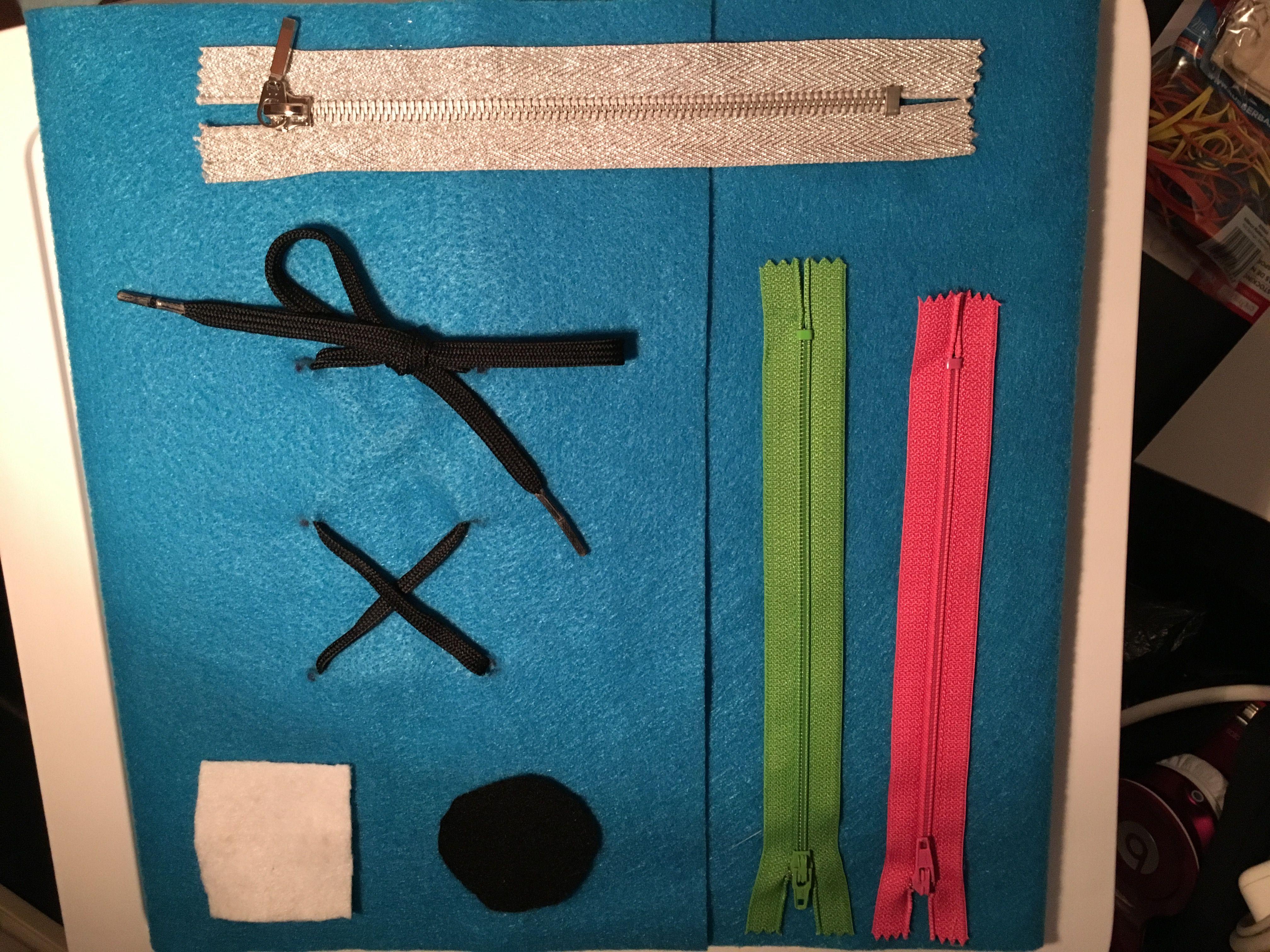 Occupational therapy- dressing board | OT stuff | Pinterest ...