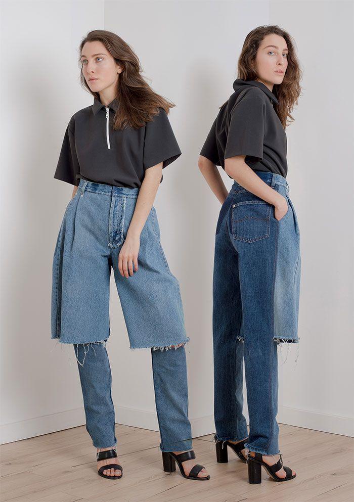 Los vaqueros y pantalones cortos multifunción