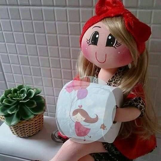Bonecas porta papel higiênico www.facebook.com ...