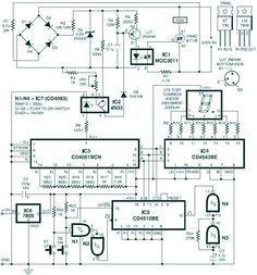 Digital Temperature Controller Circuit Diagram Honda Fuel Injector Wiring Controlled Dc Fan Using Atmega8 Microcontroller Speed Control Design Electrical Projects Engineering Electronic