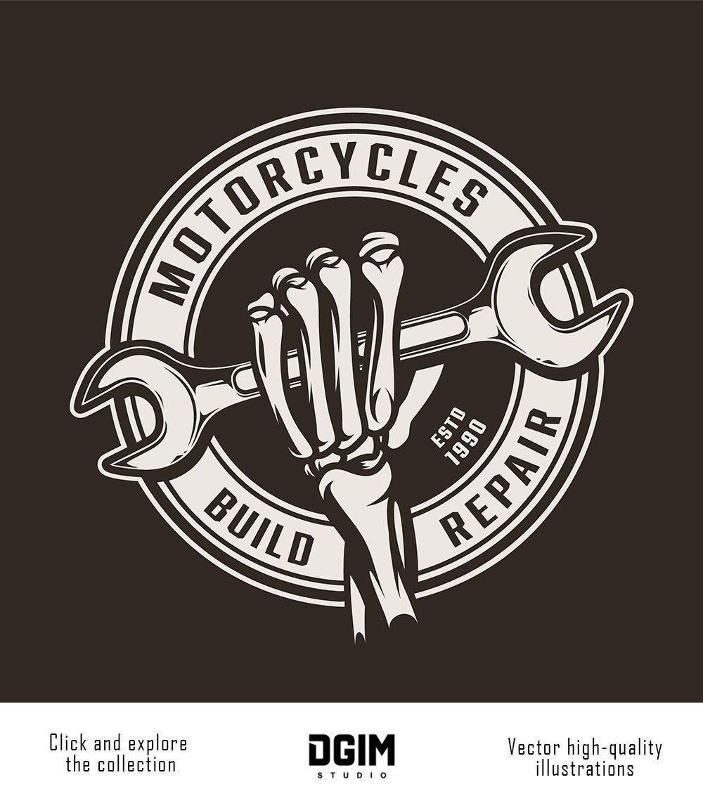 37 Vintage Custom Motorcycle Emblems Motorcycles Logo Design Moto Logo Design Automotive Logo